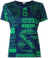 Kenzo Flyers T-shirt - women - Cotton/Spandex/Elastane - S