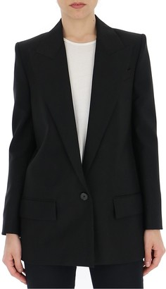 Givenchy One-Button Tailored Blazer