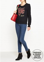 Love Moschino Heart Pocket Skinny Fit Jeans