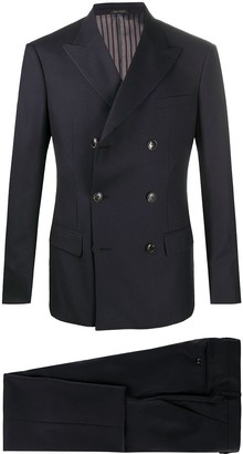 Giorgio Armani Double-Breasted Two Piece Suit