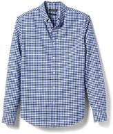 Banana Republic Grant-Fit Pocket Gingham Cotton Stretch Oxford Shirt