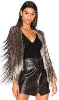 Rachel Zoe Isla Cardigan in Metallic Bronze. - size S (also in )