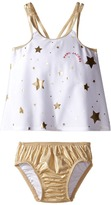 Little Marc Jacobs Stars Print Two-Piece Swimsuit Girl's Swimwear Sets