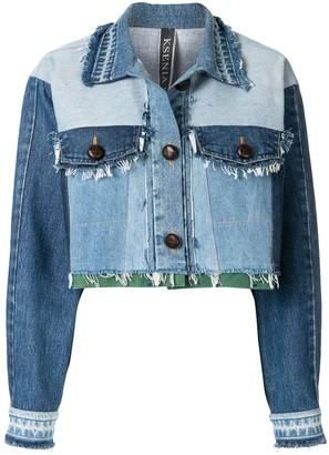 Ksenia Schnaider Cropped Denim Jacket