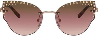 Michael Kors Embellished Cat-Eye Sunglasses