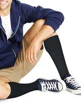 Hanes ComfortBlend Men`s Over-the-Calf Crew Socks, 909/6