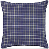 "Tommy Hilfiger Vintage Plaid 18"" Square Decorative Pillow"