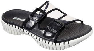 Skechers Go Walk Smart Miami Womens Adjustable Strap Footbed Sandals