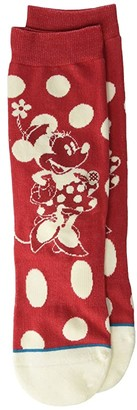 Stance Kids Minnie Mouse (Little Kid/Big Kid) (Red) Kids Shoes