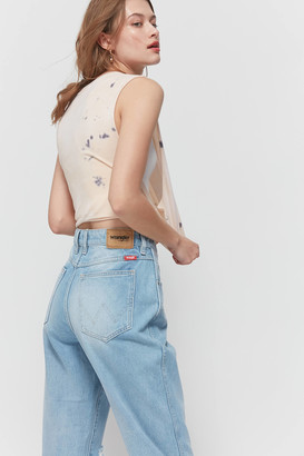Wrangler Drew High-Waisted Jean Lucille Blue