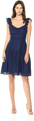 Adelyn Rae Women's Charmaine LACE Shift Dress