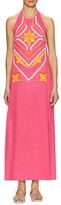 Shoshanna Halter Cover Ups Maxi Dress