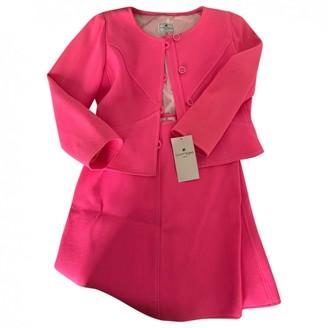 Courreges Pink Cotton Jumpsuit for Women Vintage