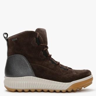 Legero Tirano 61 Brown Suede Walking Boots