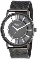 Kenneth Cole New York Men's KC9176 Transparency Ip Mesh Transparent Watch