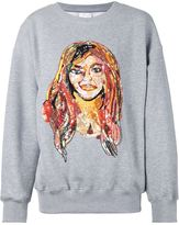 Ashish sequinned woman sweatshirt