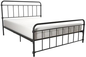 Atwater Living Wyn Metal Bed, Black, Full