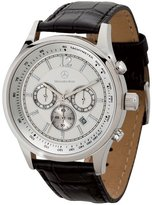 Mercedes Benz Benz Benz Men's Chronograph Watch with Crocodile Patterned Leather Straps