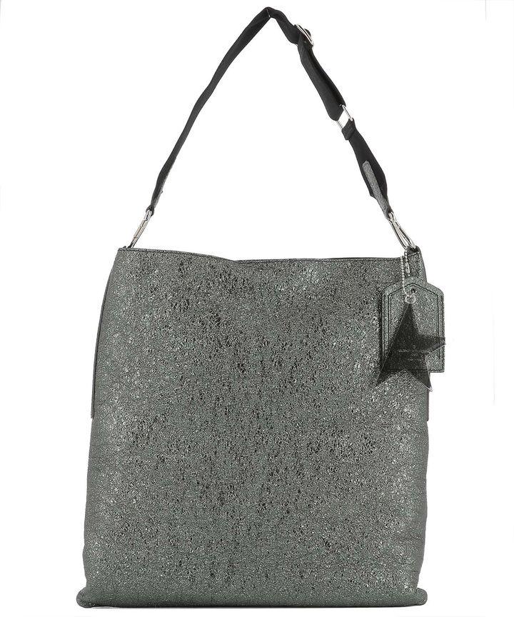 Golden Goose Deluxe Brand Silver Leather Shoulder Bag