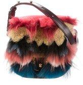 Paula Cademartori Fur-Trimmed Beth Shoulder Bag w/ Tags