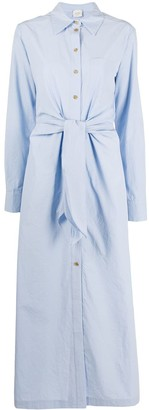 Alysi Button-Front Shirt Dress