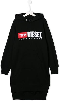 Diesel TEEN hoodie dress