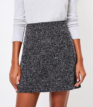 LOFT Boucle Pocket Pull On Skirt