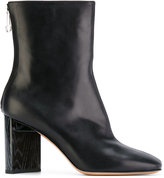 Maison Margiela block heel ankle boots - women - Calf Leather/Leather - 36