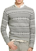 Polo Ralph Lauren Fair Isle Wool Cashmere Sweater