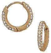 Nadri Pav Huggie Hoop Earrings