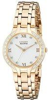 Citizen Women's EM0123-50A Eco-Drive Bella Diamond Accented Watch