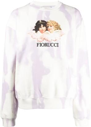 Fiorucci Tie-Dye Sweat Top