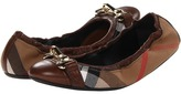 Burberry Shipley Women's Flat Shoes