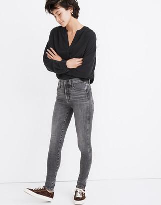 """Madewell 10"""" High-Rise Skinny Jeans in Oakwood Wash"""