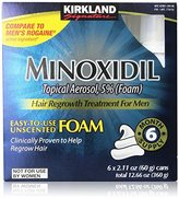 Kirkland Signature Minoxidil Foam 2.11oz, 1.5 Pound