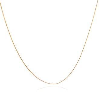 Coco Mango Jewellery Luxe Baby Kendra 18K Gold Snake Chain Necklace