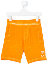 Diesel track shorts - kids - Cotton - 2 yrs