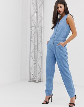 G Star G-Star organic cotton utility jumpsuit