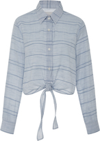 Solid & Striped Taylor Knotted Striped Shirt