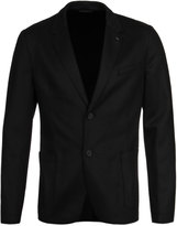 Hugo Alento Black Wool Blend Blazer