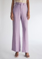 Maryam Nassir Zadeh Women's Clover Trousers in Lilac, Size 0