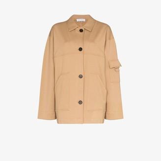 Ninety Percent Button-Up Organic Cotton Jacket