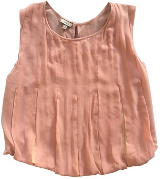 Paul Smith Pink Silk Top for Women