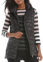 Calvin Klein Down-Filled Diamond Quilted Vest