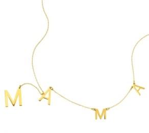 ADORNIA Mama Lariat Necklace