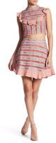 For Love & Lemons Percephone Embroidery Skirt