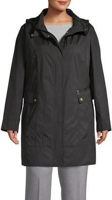 Cole Haan Hooded Packable Jacket