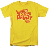 Trevco Tootsie Roll Chocolate Candy Who's Your Daddy Vintage Style Adult T-Shirt Tee