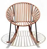 Mexa Ixtapa Rocking Chair - Leather