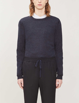 Reiss Wessex crewneck wool jumper